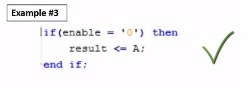VHDL programming example 3