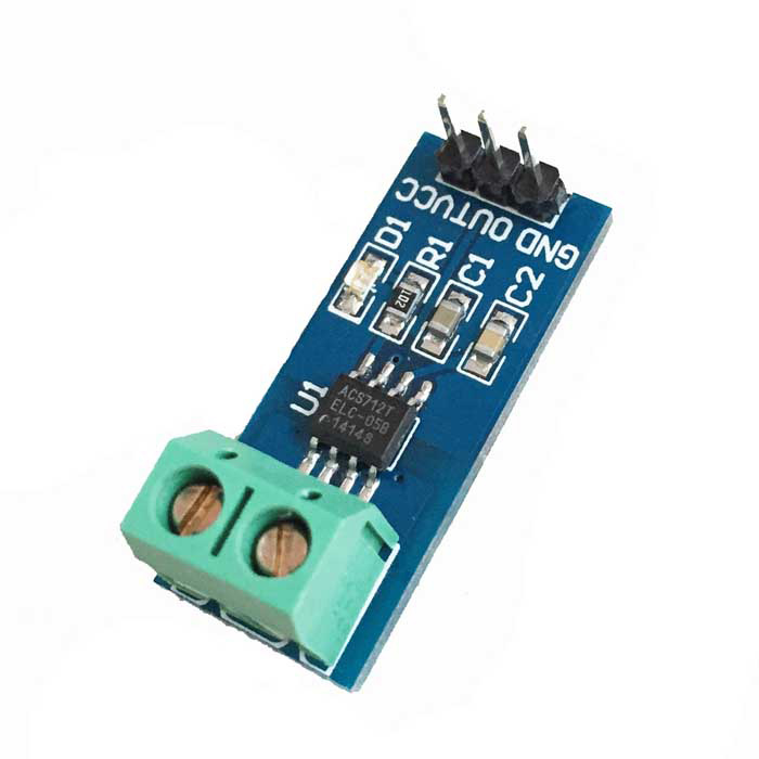 Acs712 current sensor interfacing with Arduino ac dc current