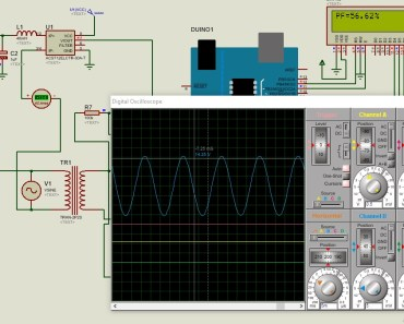 simulation of arduino based power factor meter in proteus