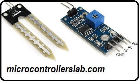 Soil Moisture Sensor YL-69 or HL-69 interfacing with pic