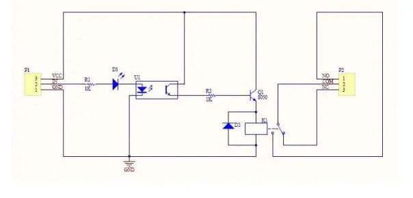 relay module circuit diagram