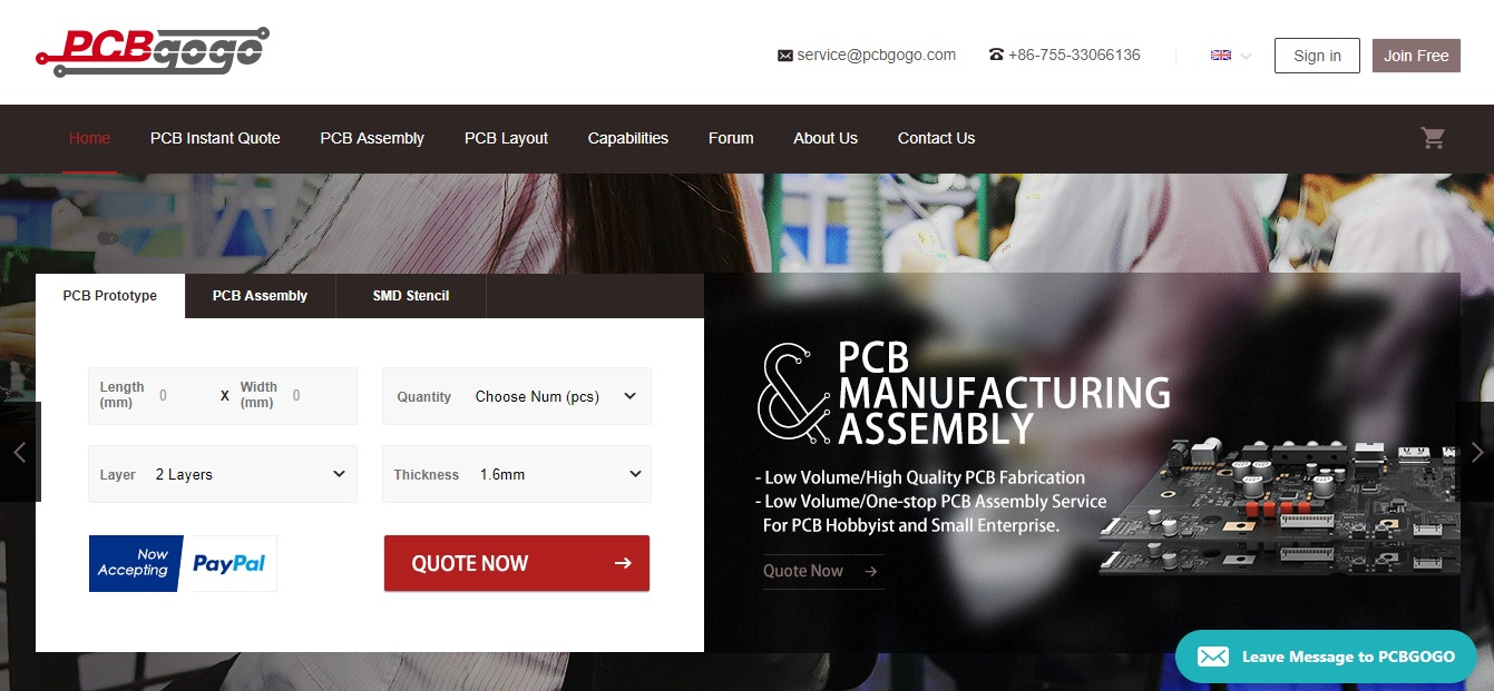 Reasons you should manufacture your PCB boards from PCBGOGO