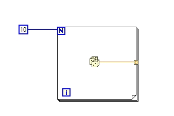 Tunnel in labview