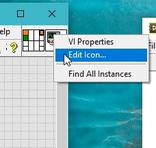 Customizing icon