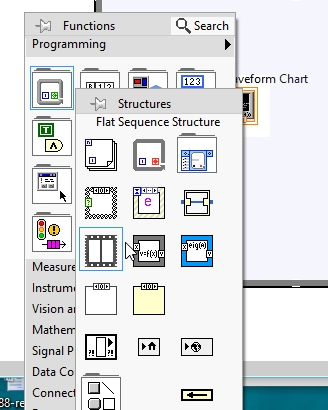 Sequence Structures labview
