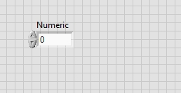 Global numeric variable labview