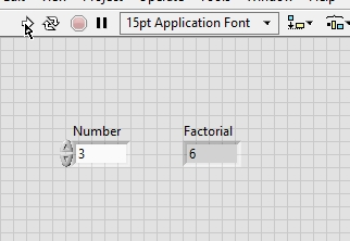 Calculate Factorial of a number in LabView : tutorial 35