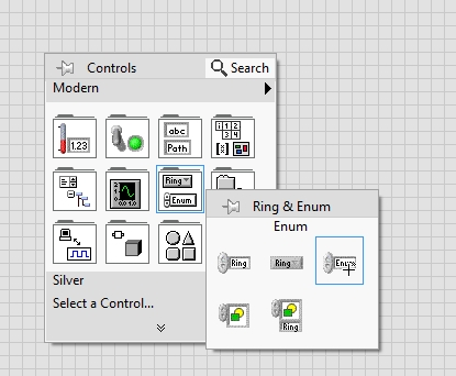 Enumerated data types in labview : tutorial 16