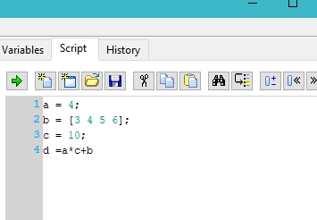 MathScript in LabView