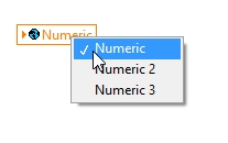 Selecting one of all global variables