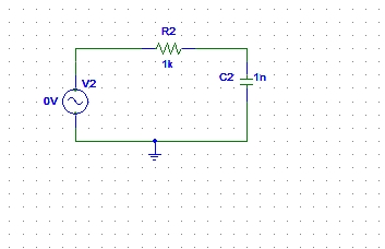 AC circuits analysis in PSpice : tutorial 6