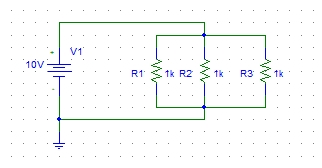 DC circuits analysis with PSpice: tutorial 5