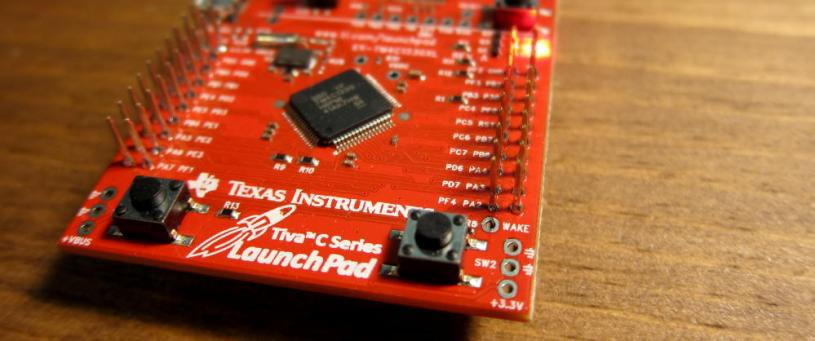 Push button interfacing with tiva launchPad