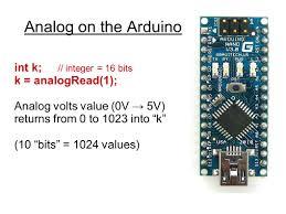 AnalogRead Arduino