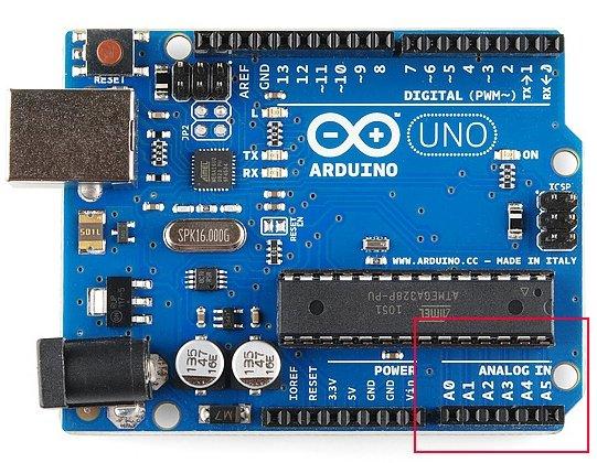 Arduino Analog pins