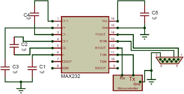MAX232 Circuit