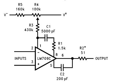 LM709 Examples