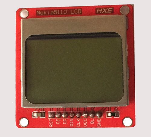 Nokia5110 LCD Module