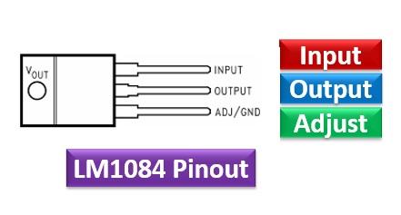 LM1084 pinout
