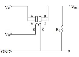 MQ137 Ammonia Gas Sensor Internal Circuit