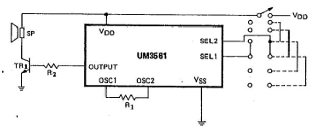 four Sound circuit Example