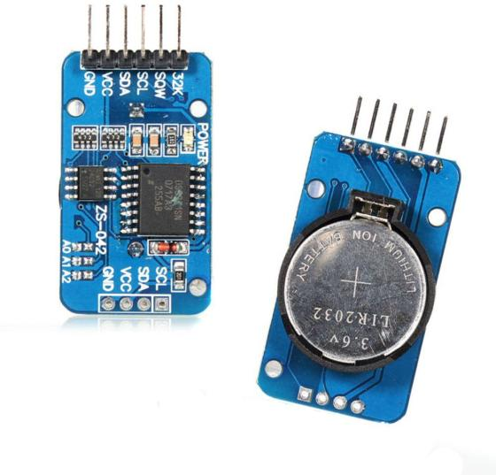 DS3231 RTC module coin cell holder