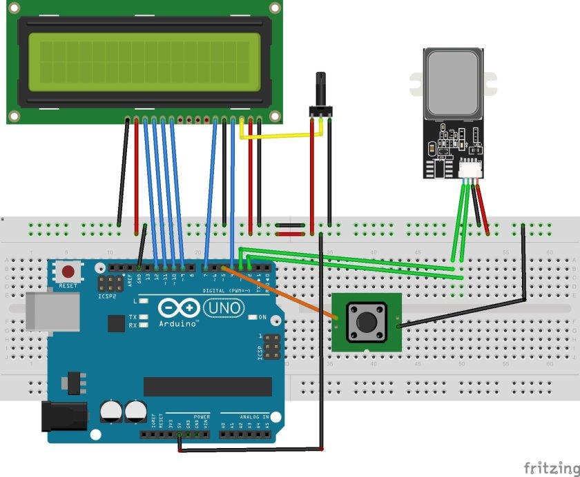 GT511C3 Fingerprint Scanner Module interfacing with Arduino
