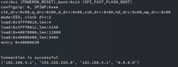 soft access point web server micropython esp32 esp8266 ip address