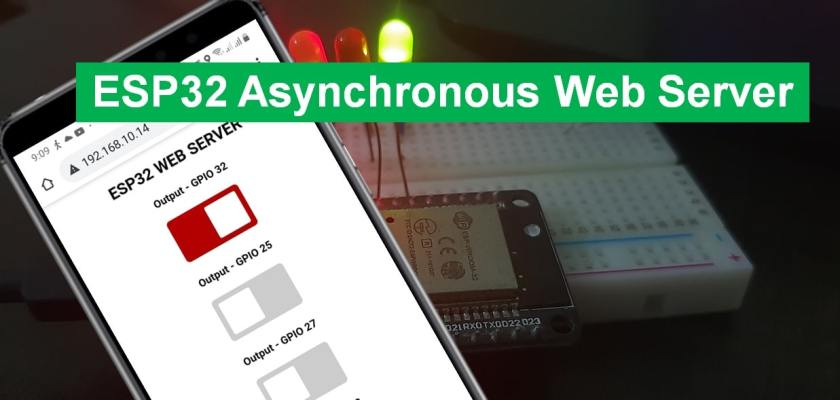 ESP32 Async Web Server Arduino