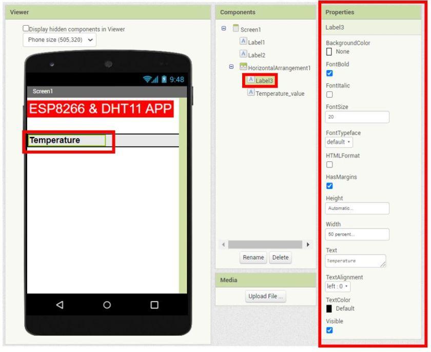 ESP8266 Google Firebase build your own app MIT Inventor 9