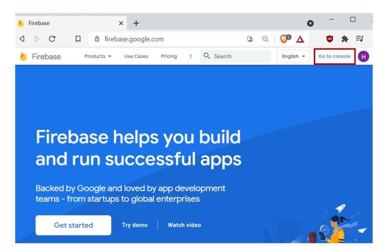 Google Firebase Getting Started no1