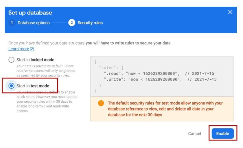 Google Firebase Getting Started no13