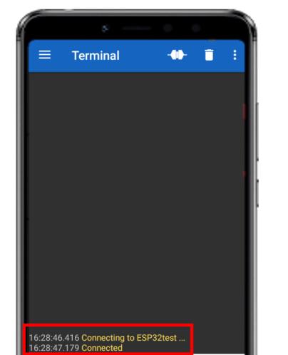 Serial Bluetooth demo4