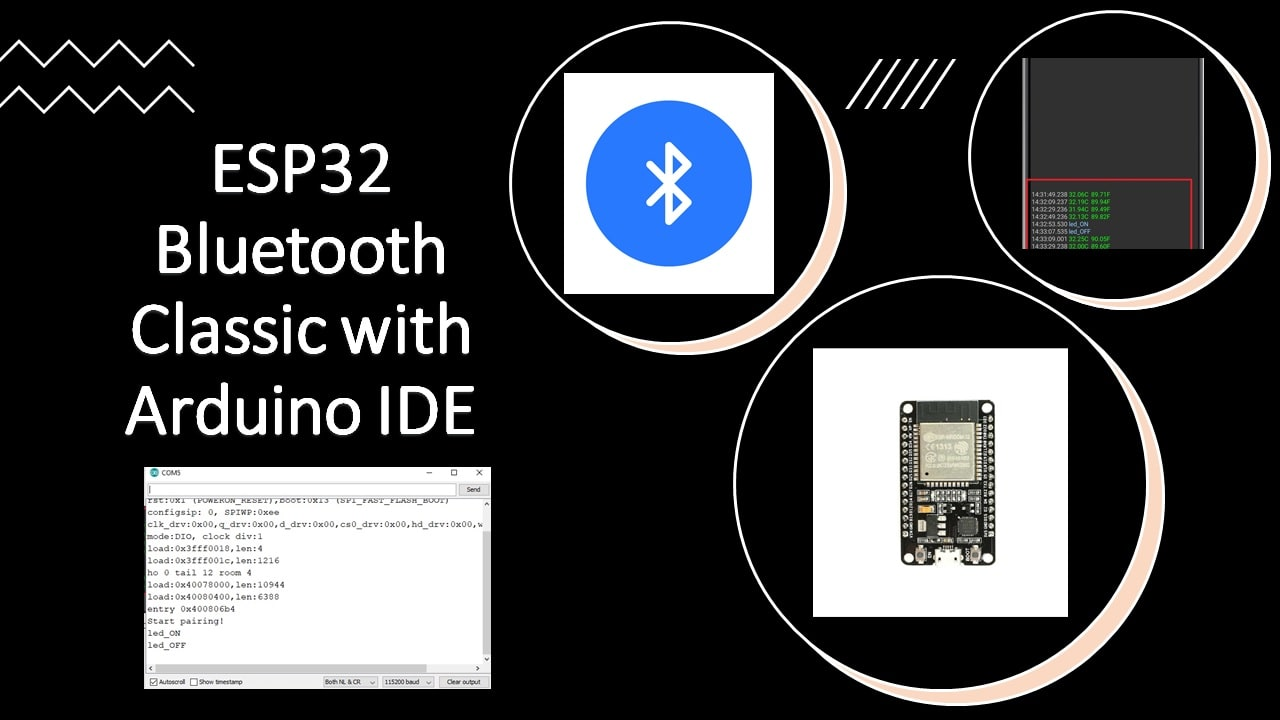 Use ESP32 Bluetooth Classic with Arduino IDE