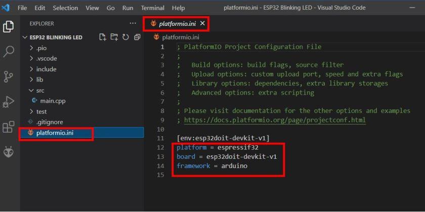 VS Code with PlatformIO 10