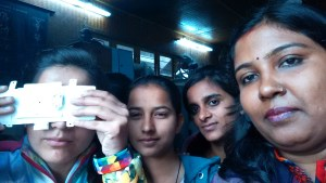 Exploring Foldscope in ARSD college