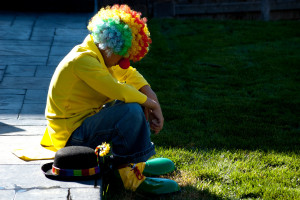 Sad Clown by Shawn Campbell