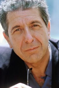 The songwriter Leonard Cohen in Venice (1988) Gorupdebesanez [CC BY-SA 3.0]