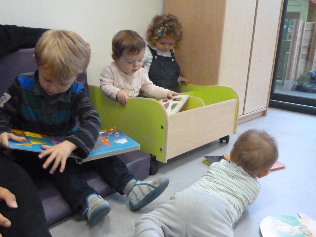 les livres et les bébés