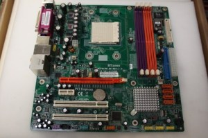 Acer Aspire T180 E380 Socket AM2 PCIE Motherboard HT2000