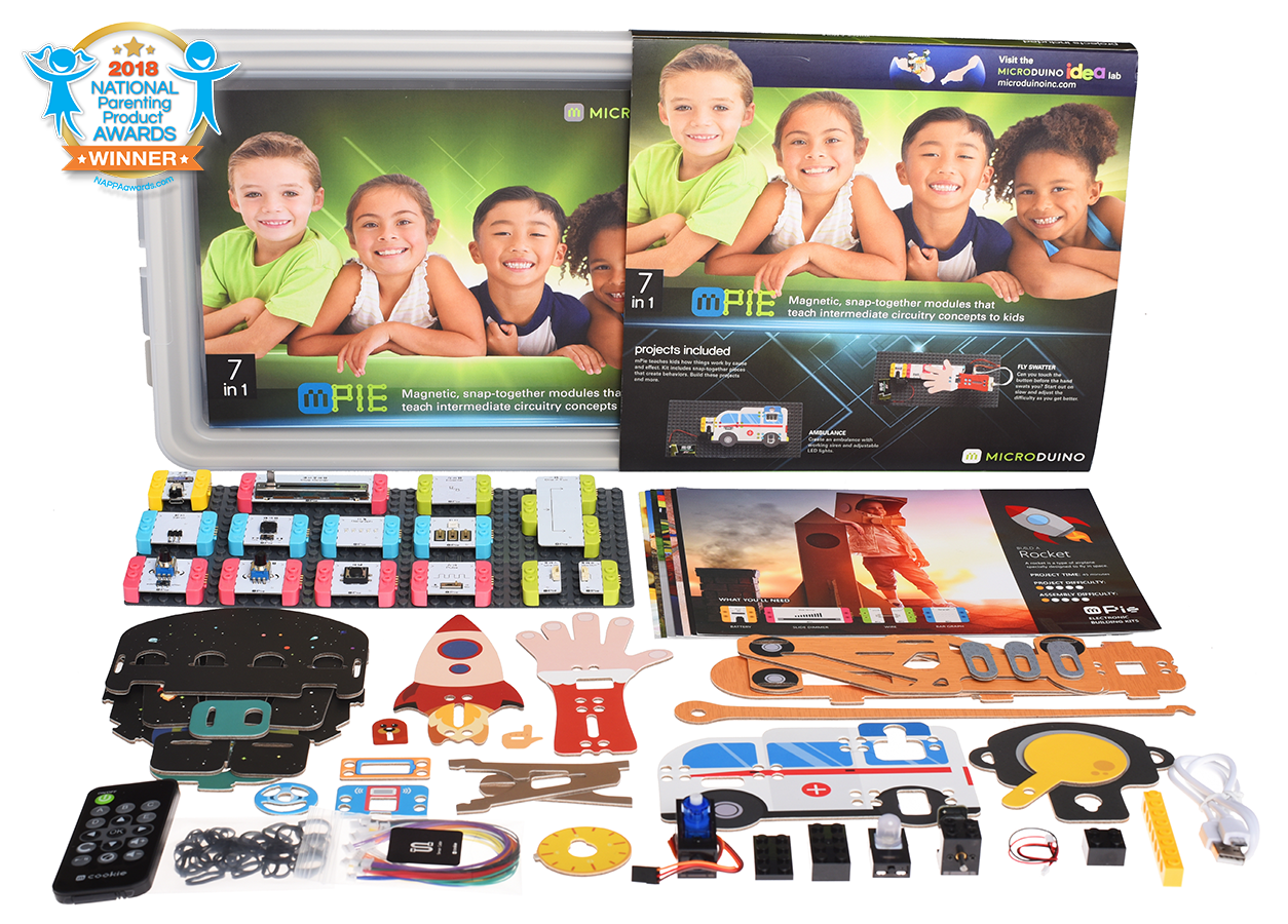 mPie Designed for children ages 7 and up - Microduino