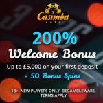 Casimba Casino Review – €6,500 bonus and 125 extra spins – play now!