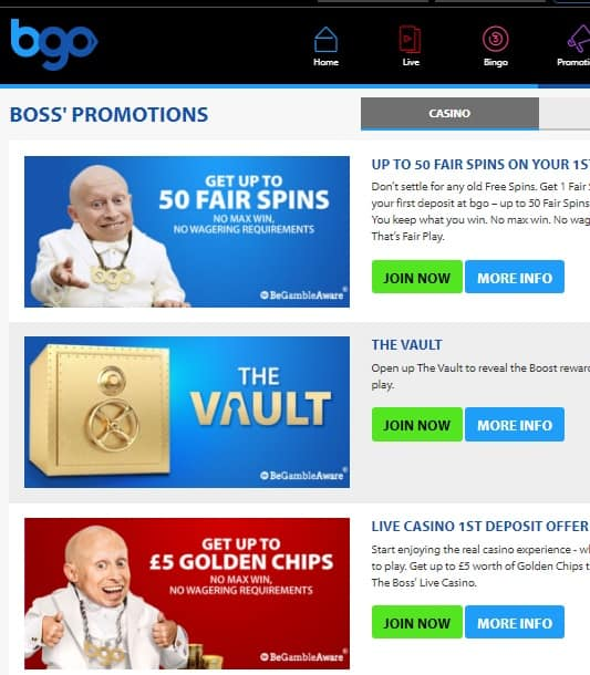 Bgo.com Casino Review