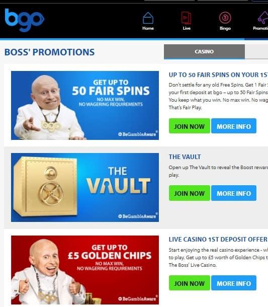 Bgo.com Casino Review
