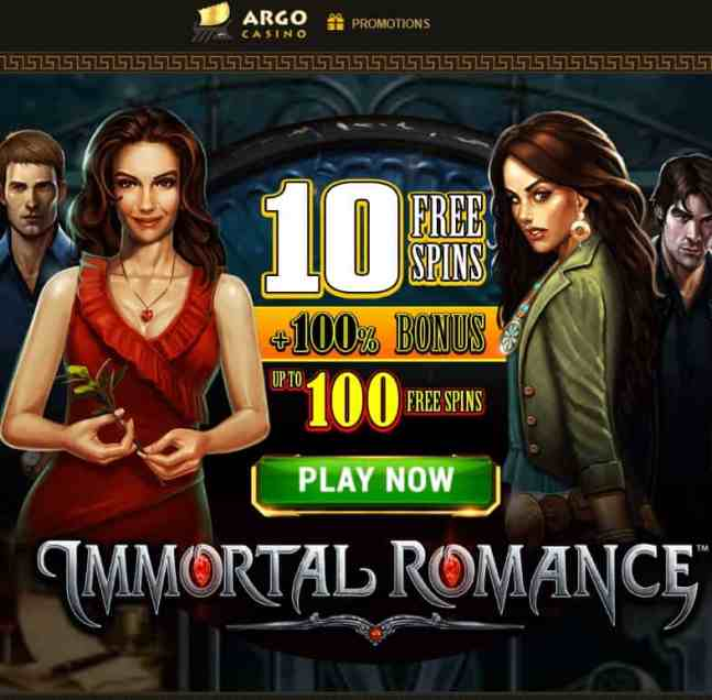 ArgoCasino 100 free spins for new players