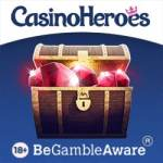 Casino Heroes (UK licensed) £400 bonus   200 spins or 600 extra spins