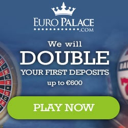 Euro Palace Casino 300% up to €300 bonus and 100 free spins