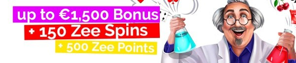 Playzee Casino 1500 free chips and 150 free spins