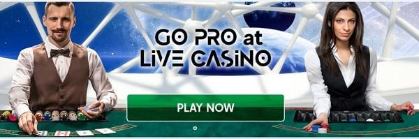 GoPro Casino - live dealer
