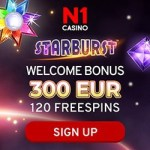 N1 Casino [register & login] 300€ bonus and 120 free spins